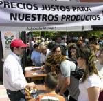 769. 150608. 28. La U.P.A. pide precios justos para los productos.